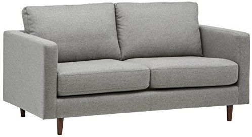 Best Amazon Com Rivet Revolve Modern Reversible Chaise Sectional 80 W Denim Kitchen Dining 400 x 300