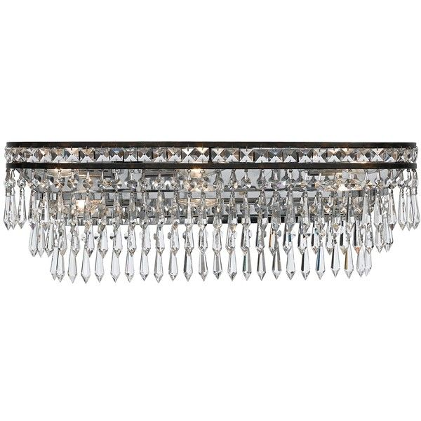 Crystorama mercer 5265 6 light bathroom vanity light bring art deco style home with the crystorama mercer 5265 6 light bathroom vanity light