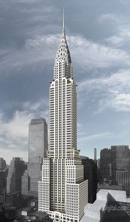 The Chrysler Building - William Van Allen NYC Pinterest - new malaysia education blueprint wikipedia