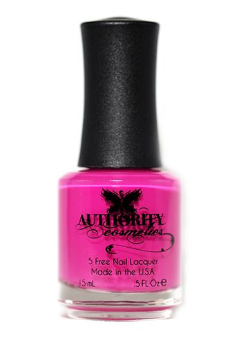 Authority Cosmetics Gumdrop Polish - Deceptively bright in the bottle, this girly pink shade is perfect for manifesting instant springtime at your fingertips. Pair with strappy sandals and you're good to go.