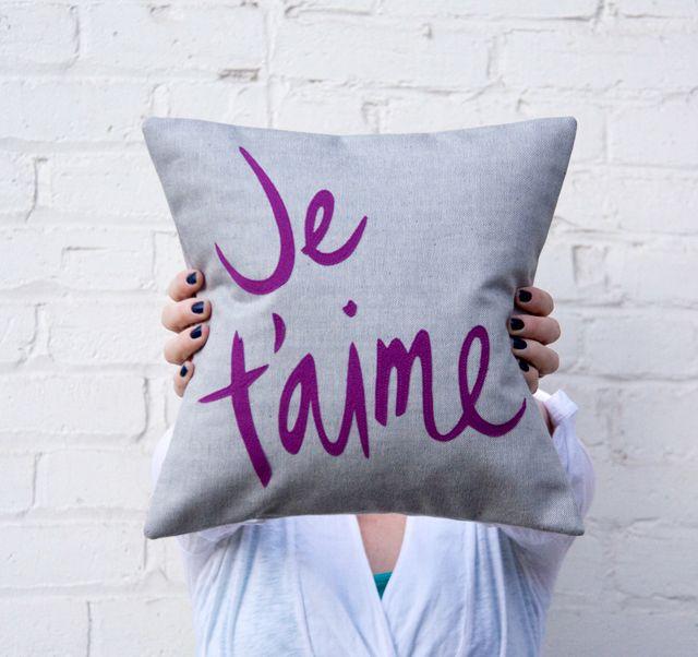 Manualidades sencillas para el hogar Pillows