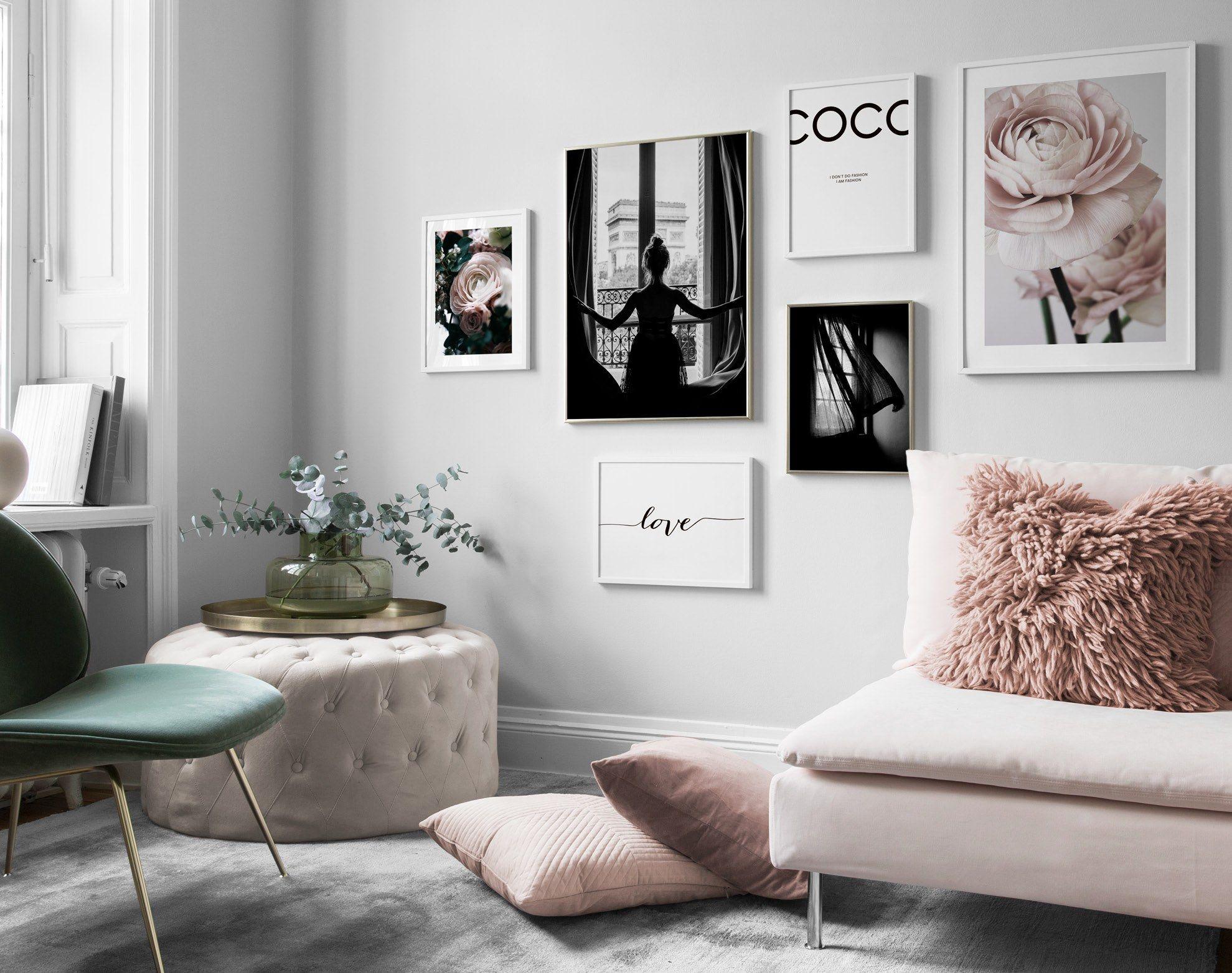 Seite 7 Inspiration für schöne Wohnzimmer Bilderwand mit