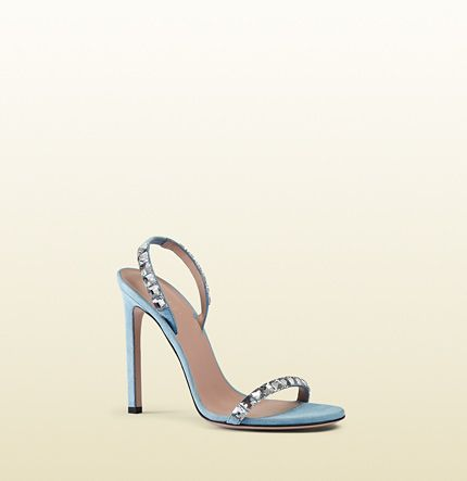 98b10f84e9d Gucci - mallory crystal embellished suede sandals 370462J17907880 ...