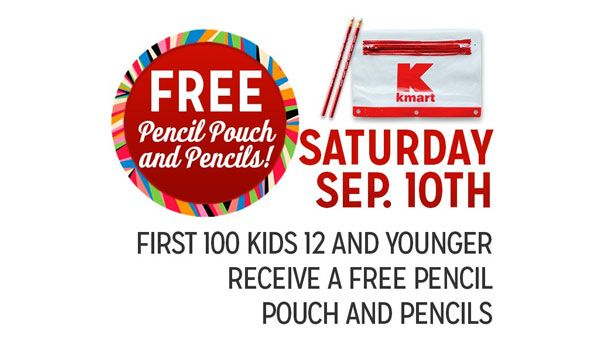 #free #freesamples #kidsfreebies #freepencilpouchforkids #freepencilsforkids #kmartfreesamples #US