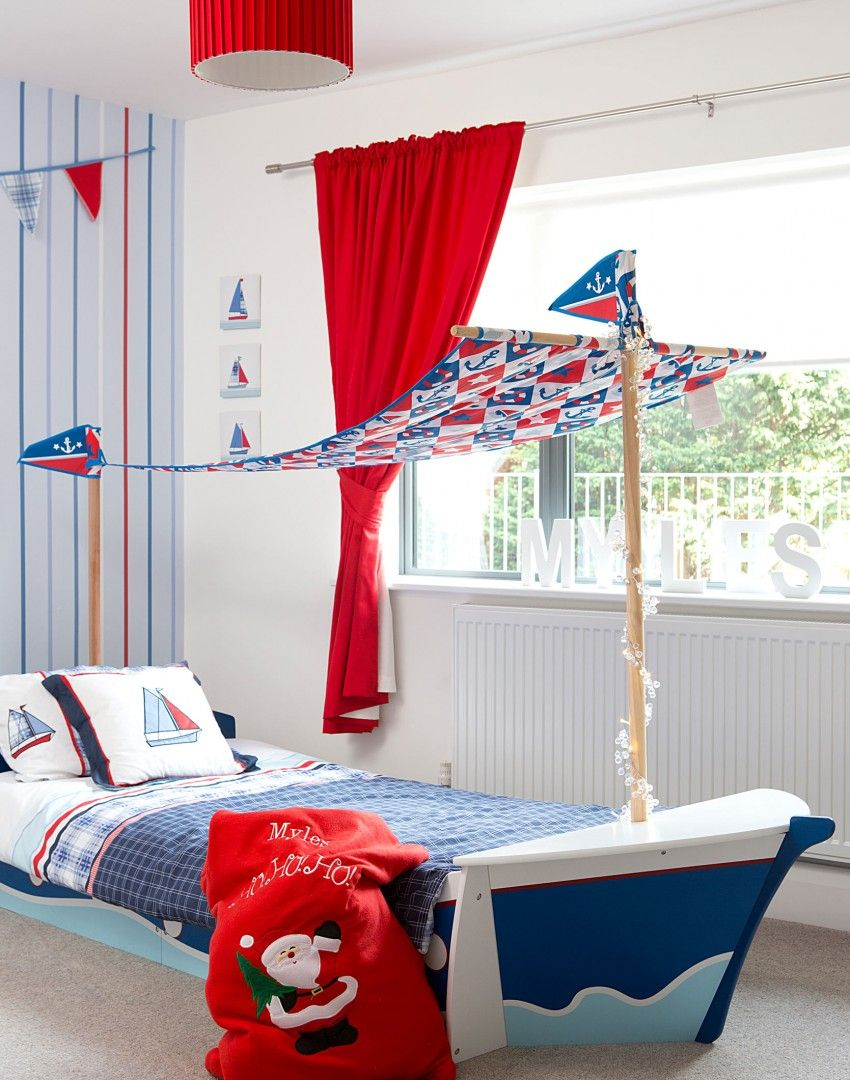 Want to create a splash in a child's bedroom? How about