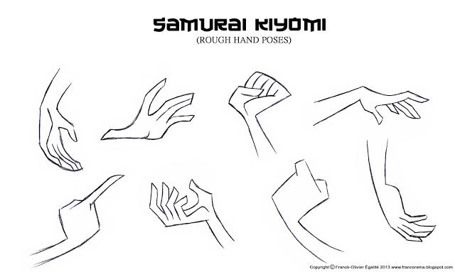 Franco's Blog: Character Design Assignment Two: Samurai