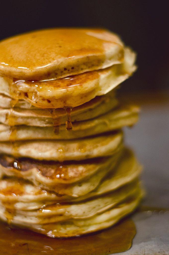 Perfect Vanilla Pancakes Recipe Vanilla Pancakes Food Bisquick