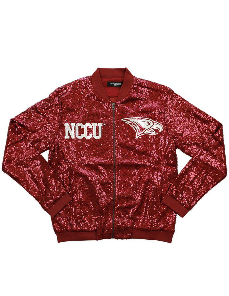 North Carolina Central University Nccu Sequin Jacket Brothers And Sisters Greek Store Sequin Jacket Jackets Women [ 1015 x 788 Pixel ]