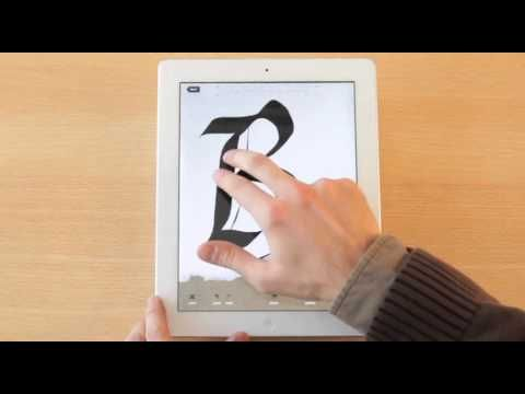 Calligraphy Practice Ipad App Youtube Kaligrafija Pinterest