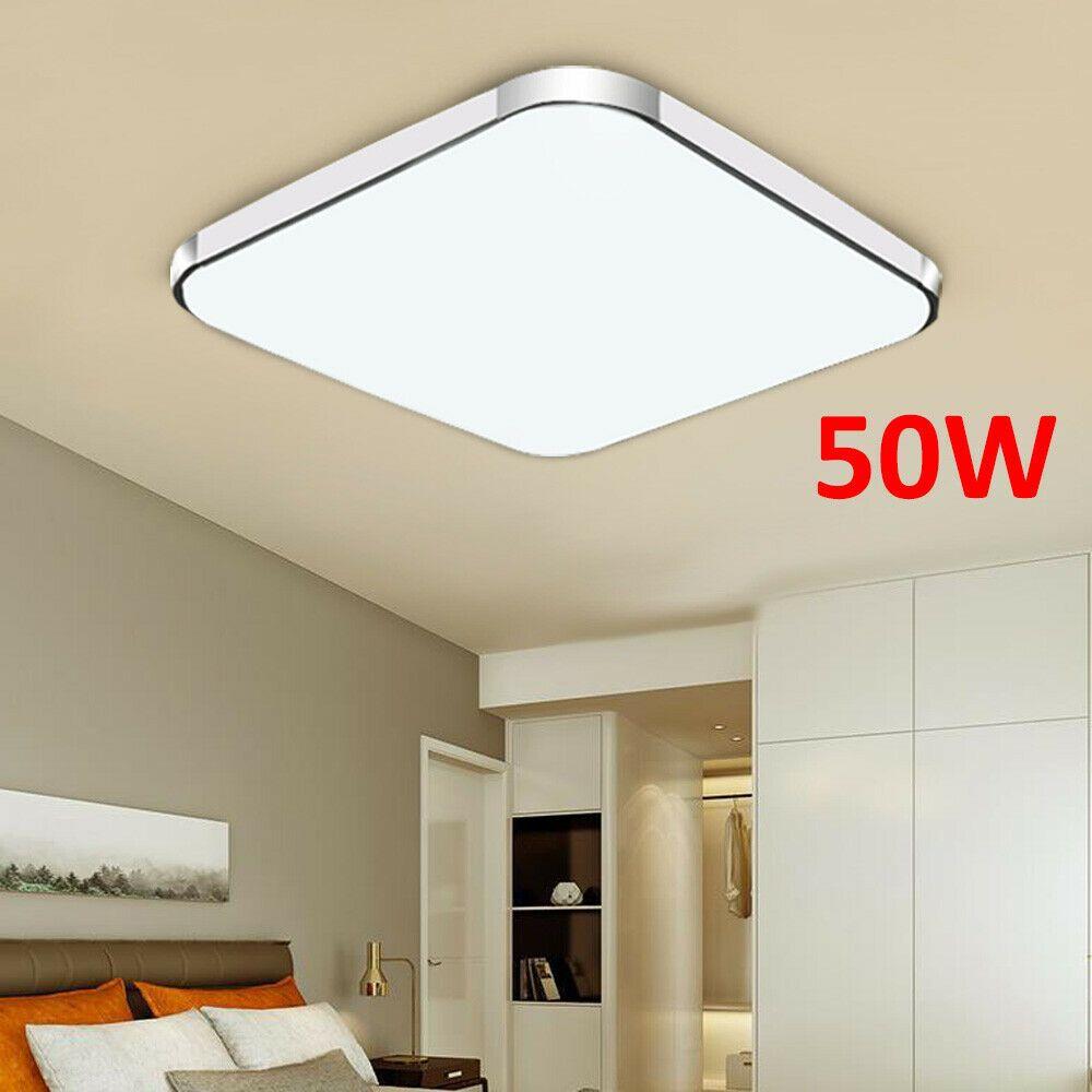 LED Deckenleuchte Deckenlampe 50W Wohnzimmer Badleuchte
