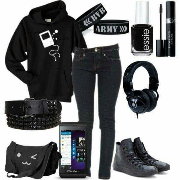 #outfit #outfitoftheday #clothes #accessories #fashion #biker #chic #style #womens