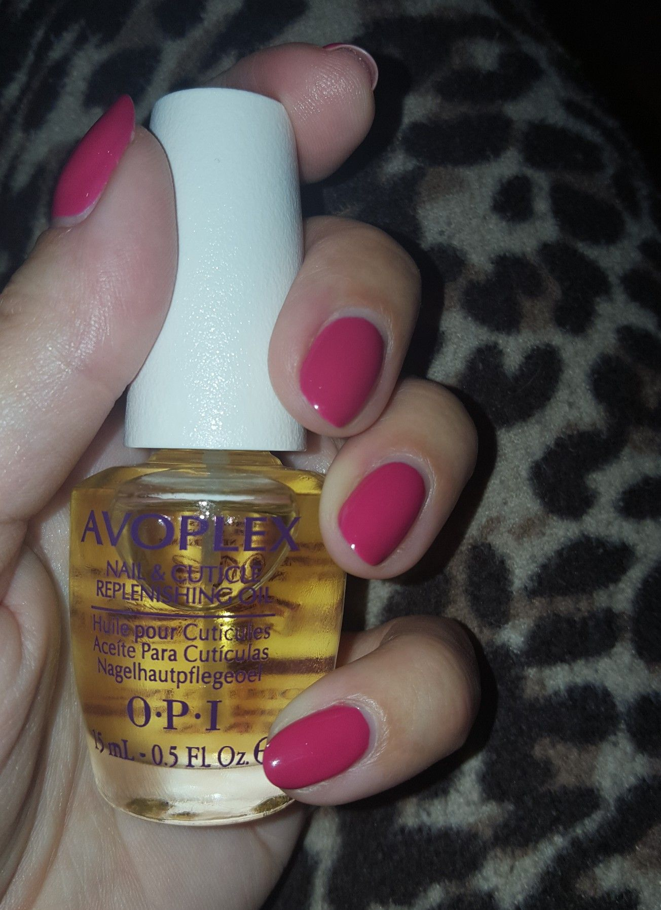 OPI AVOPLEX nail & cuticle oil. Use this every day, can\'t be without ...