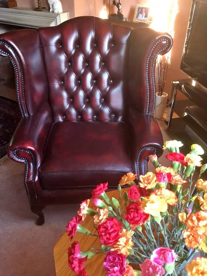 Immaculate Chesterfield Arm Chair 275 Chair Wingback Chair