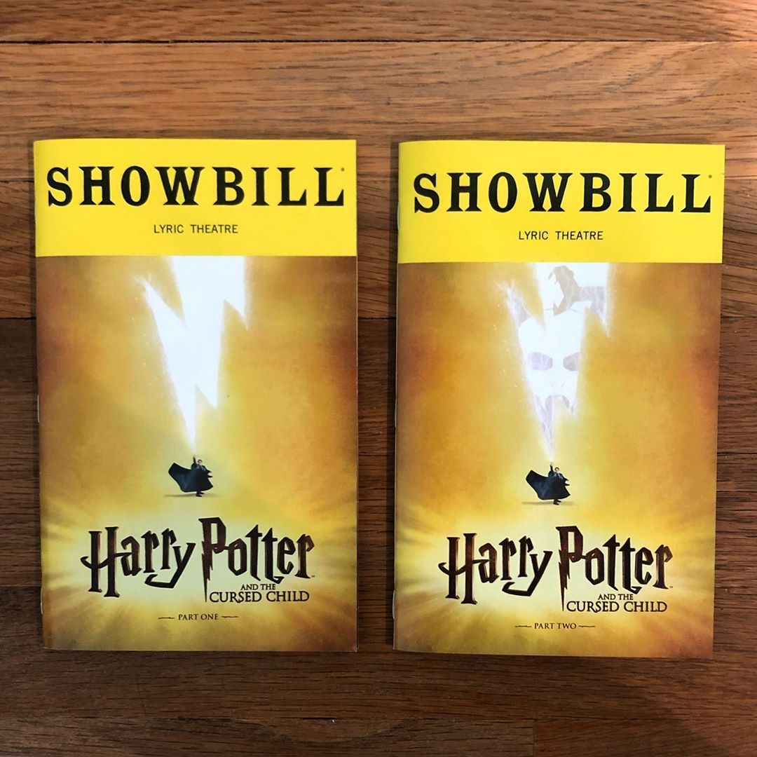Harry Potter And The Cursed Child Nov 24 2019 Cursed Child Playbill Instagram Posts
