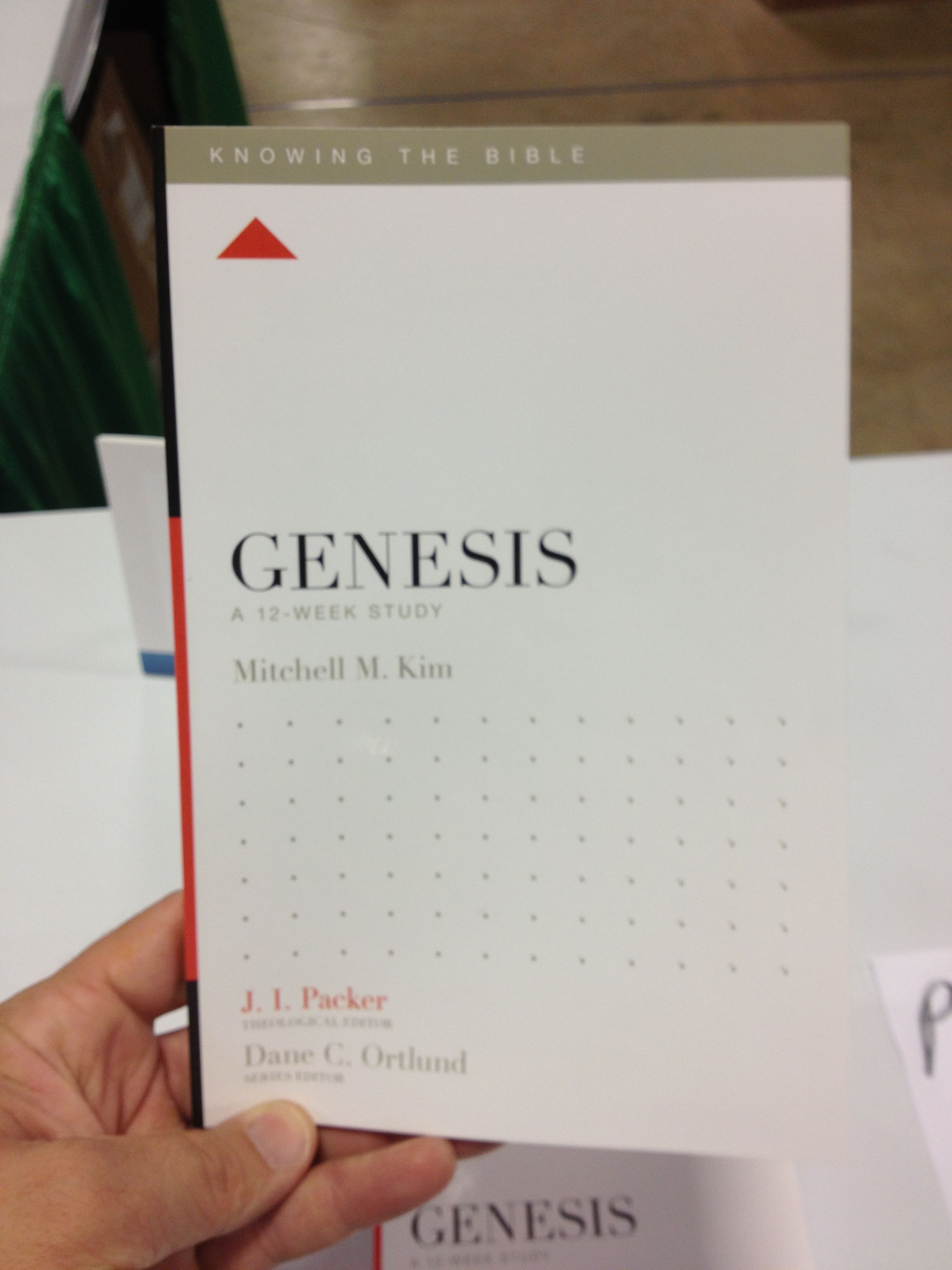 Knowing the Bible Genesis study by Crossway