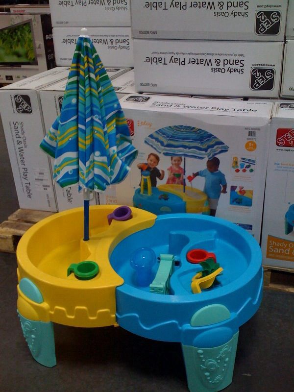 sand water table at costco $45 bday present? | oh baby | pinterest