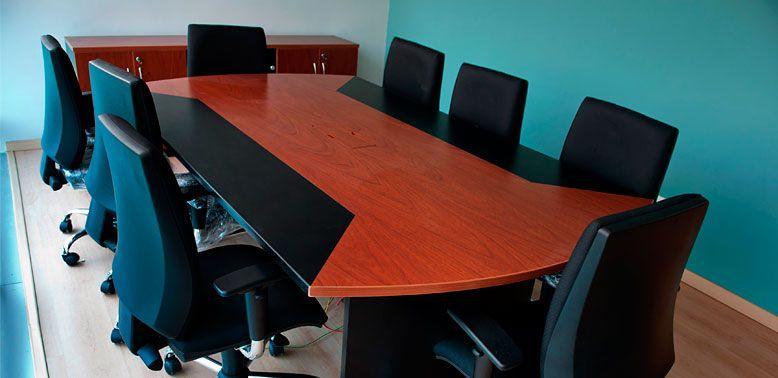 Accordo En Melamina    Características: Mesa De Reuniones Diseñada Para  Siempre Llegar A Un Acuerdo. Infórmate Más Sobre Este Mueble Dándole Clic Au2026