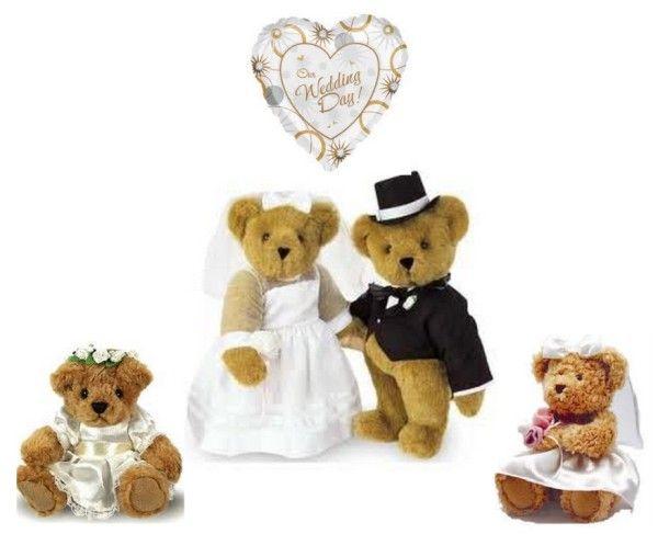 Wedding Teddy Bears Personalised Bear Gifts