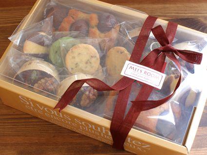 お菓子の簡単ラッピング. クッキーの包装箱