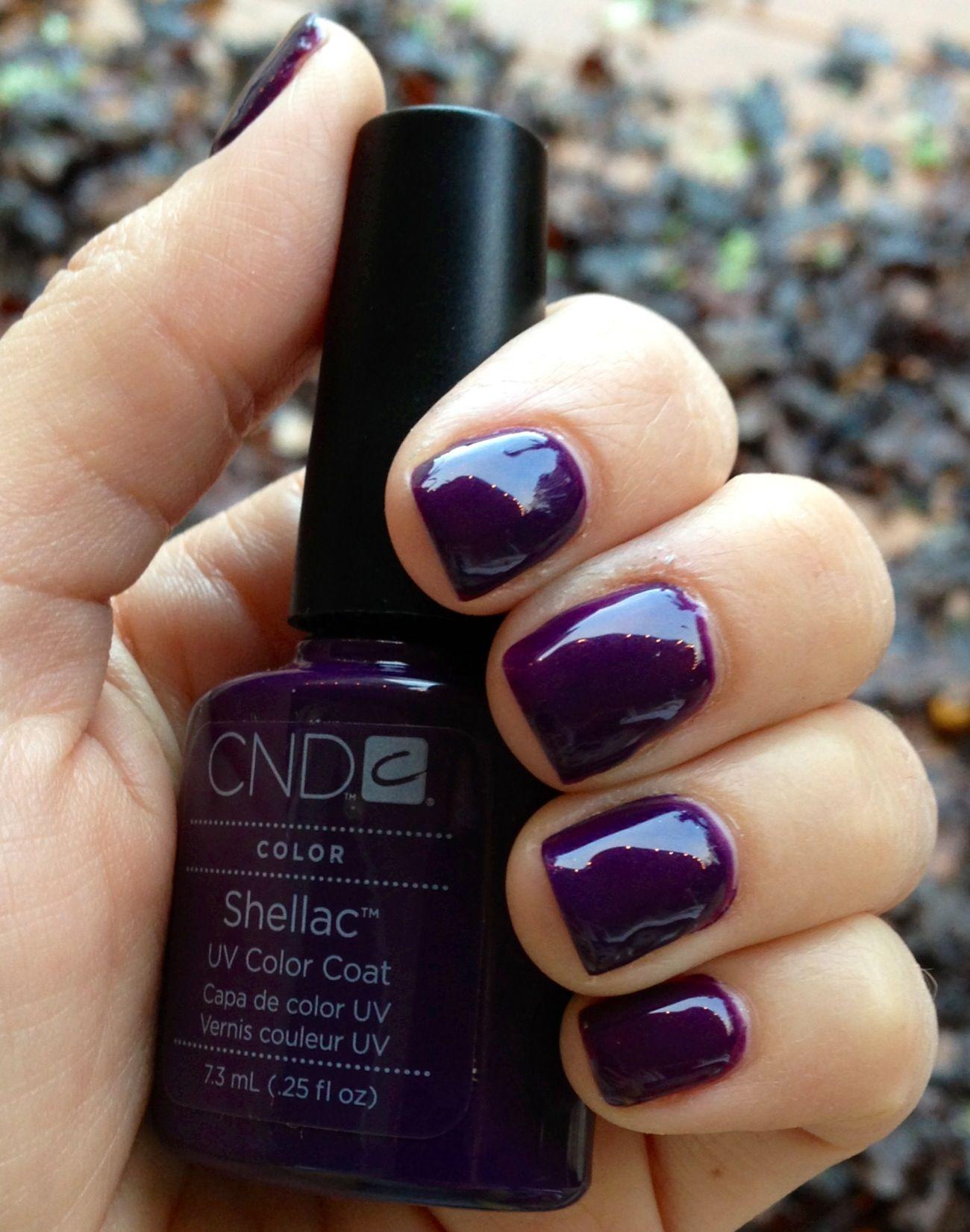 Shellac UV Color Coat Rock Royalty   Nails (Kerri)   Pinterest ...