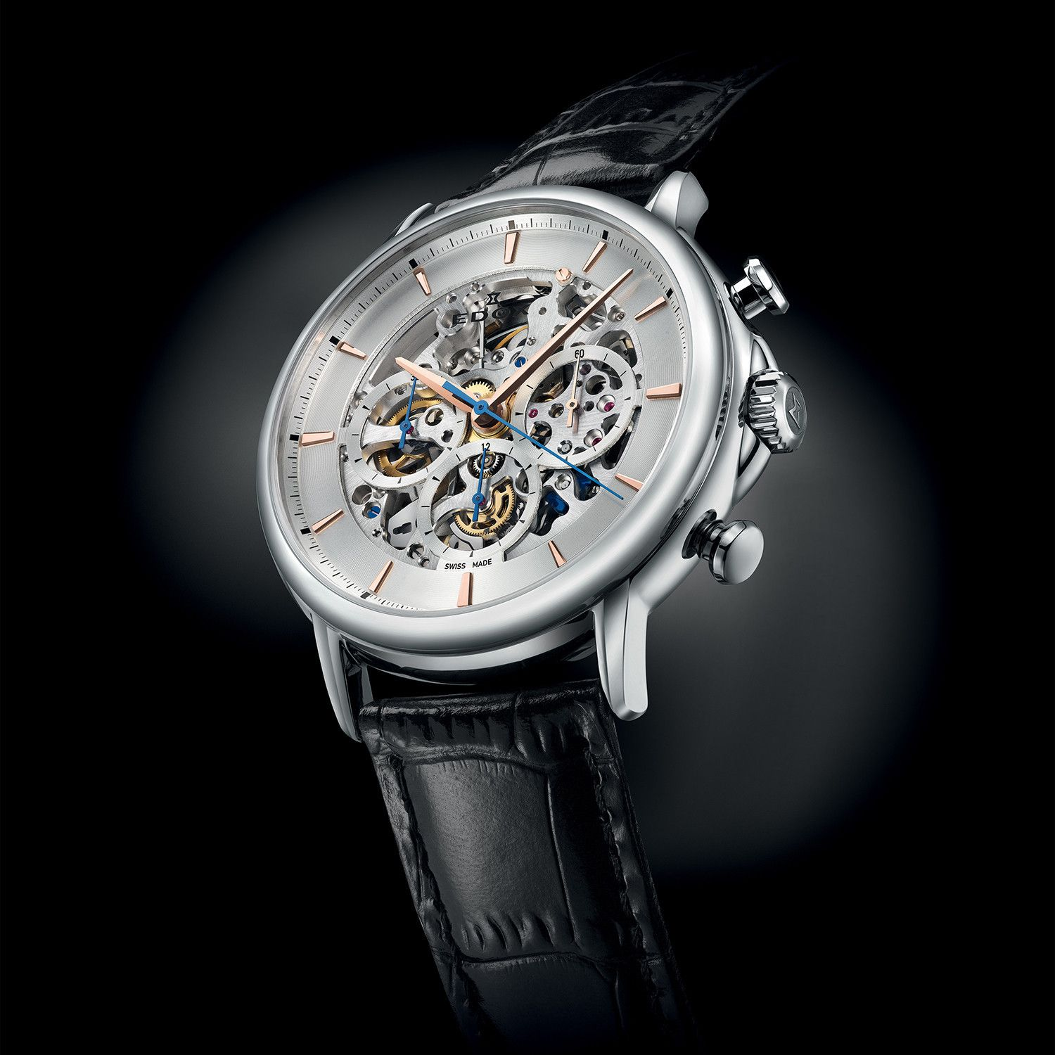 Les Bemonts Automatic Open Heart Limited Edition    95005 3 AIR ... 3b03ddb1a3