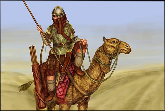 Roman Dromedarii. Dromedarii are auxilliary troops recruited in the desert  provinces of the Eastern Empire to take the place… | Roman empire, Ancient  warfare, Roman