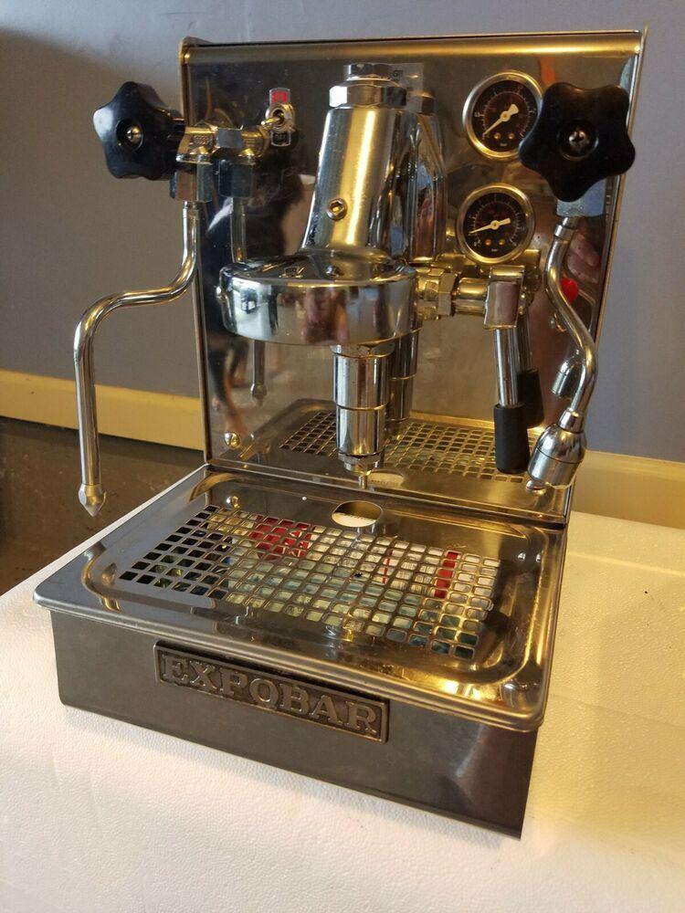 Used Expobar Lever SemiAutomatic Espresso Machine Semi