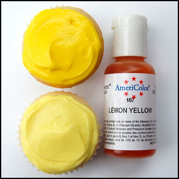 Lemon Yellow Gel Paste Food Color Iu0027ve Got Gadgets and Gizmou0027s A - food coloring chart