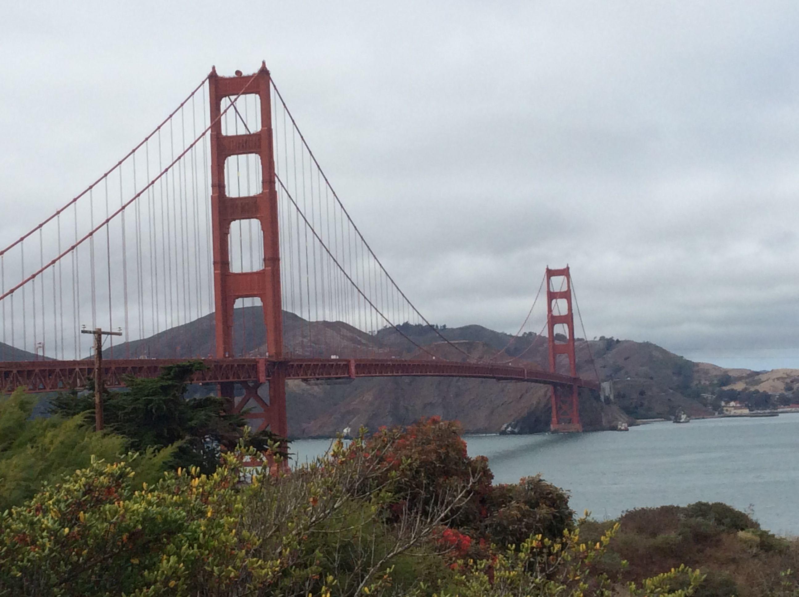 Golden Gate Bridge SF Aug 2014