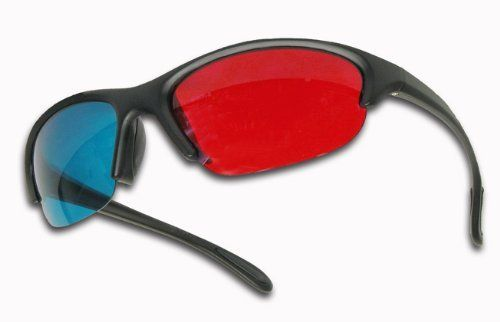 red cyan glasses how to make