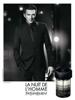 9a9ef5505df YSL La Nuit de l'Homme fragrance Vincent Cassel, Ysl, Yves Saint Laurent
