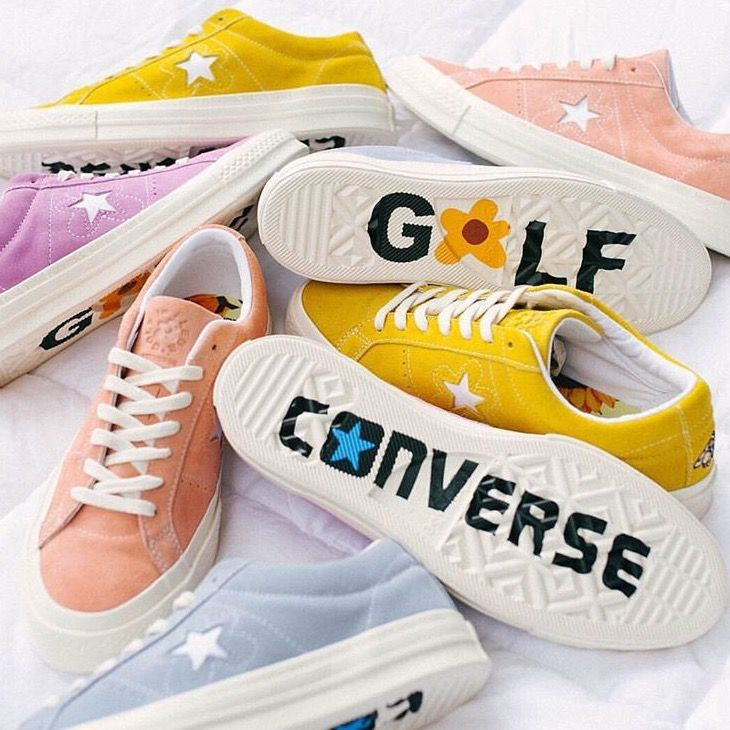 Converse One Star X Golf Le Fleur collection from Tyler, the Creator