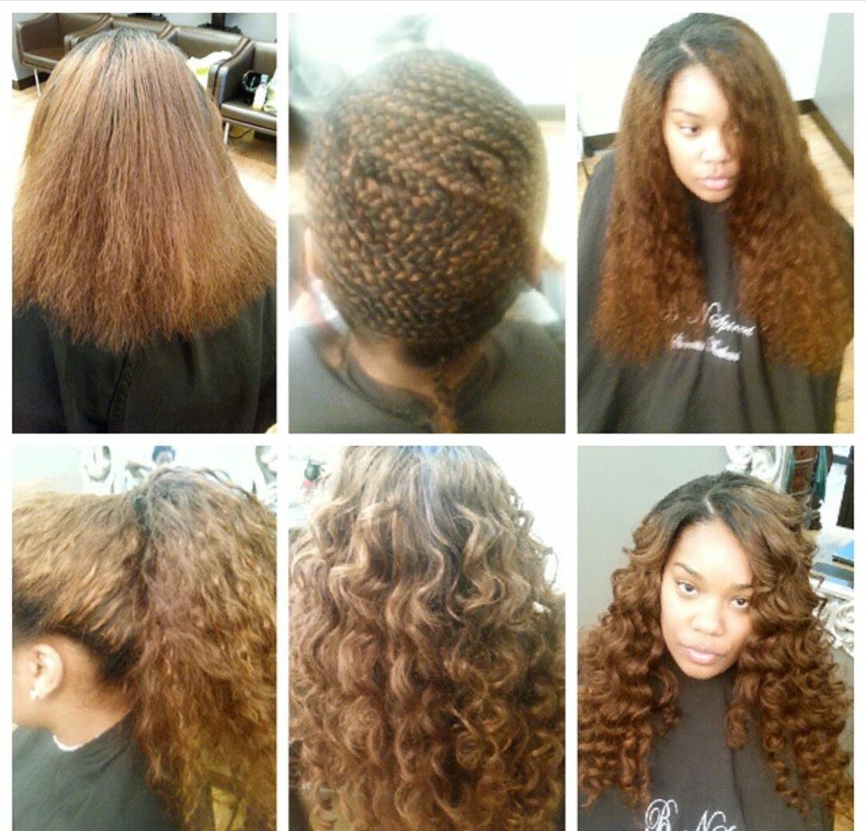 Full Sew In Side Part Indian Curly Hair Color Hair Versatile Weave
