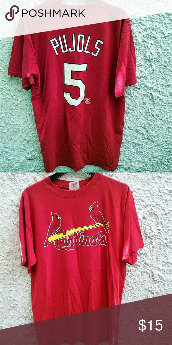 promo code b1924 bfefd Albert Pujols Cardinals t shirt large   Vintage t shirts ...