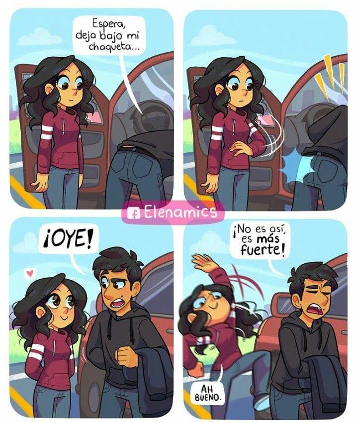 Primera parte Historietas divertidas, Historieta de amor