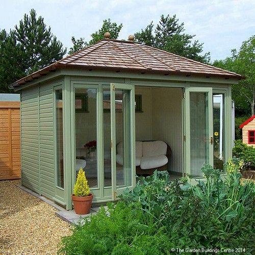 Hanley Garden Office Hipped Roof 12ft X 10ft