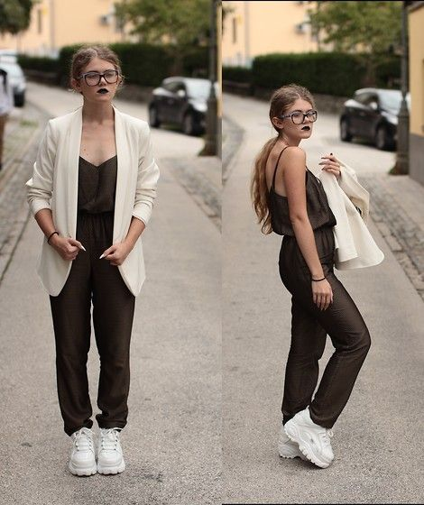 topshop jumpsuit buffalo platform trainers h m white blazer the new style by the young woman. Black Bedroom Furniture Sets. Home Design Ideas