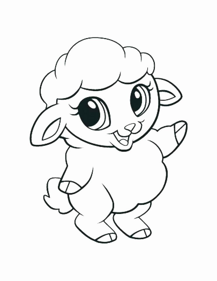 Cute Printable Coloring Pages New Cute Animal Coloring Pages Best ...