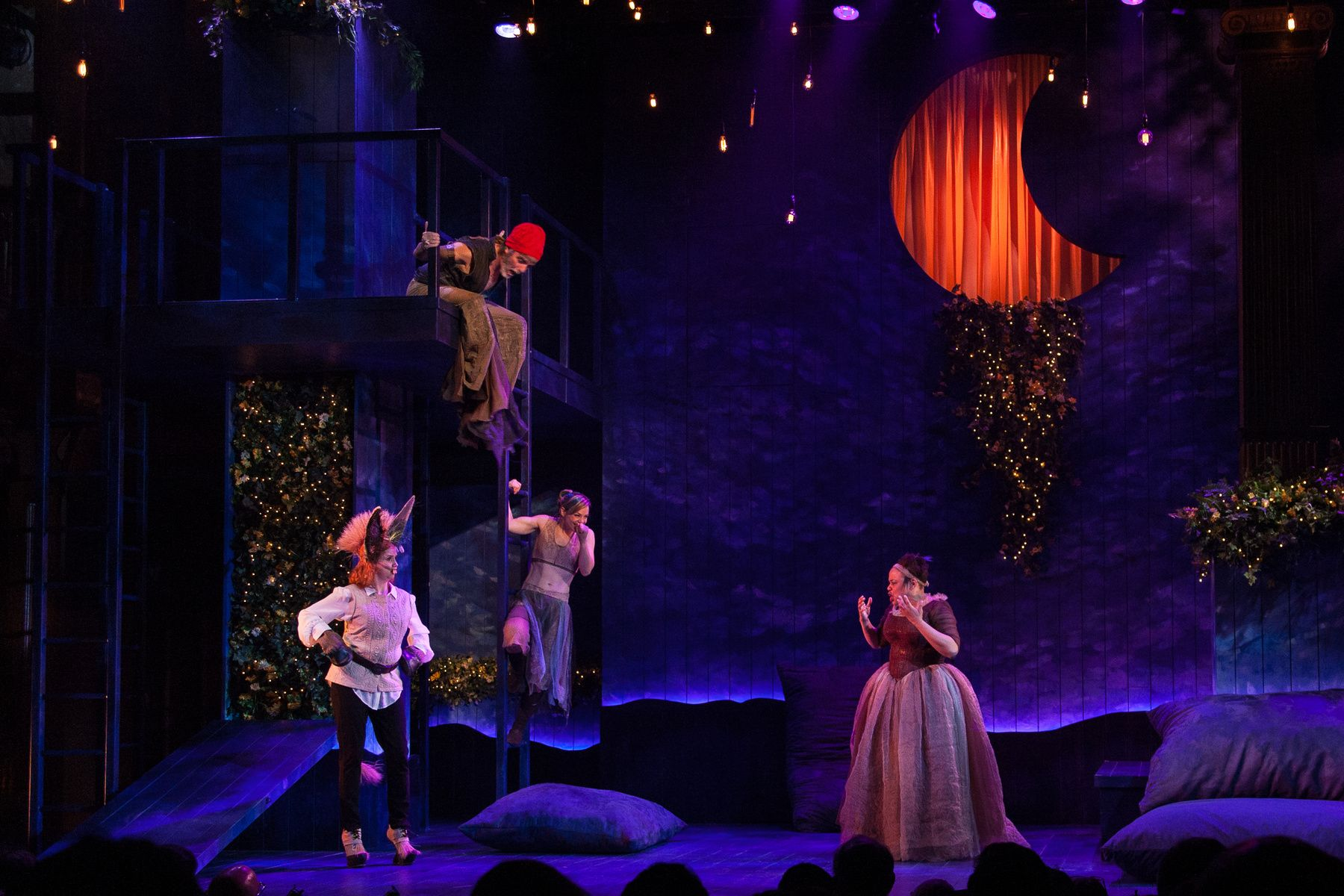 Midsummer Night s Dream Paige Hathaway Set Design