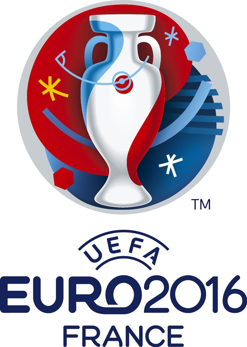 Brand New: New Logo and Identity for UEFA EURO 2016 by Brandia Central
