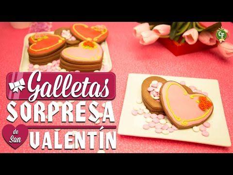Cocinas Valentin | Como Preparar Galletas Sorpresa De San Valentin Cocina Fresca