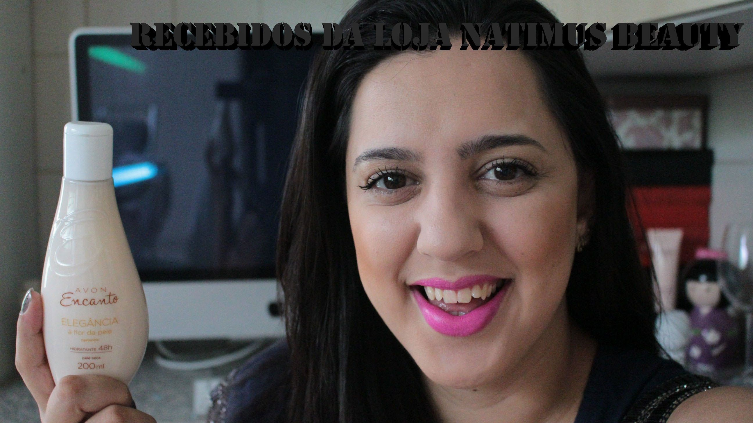 Recebidos da loja Natimus Beauty do Blog Nada Perfeita