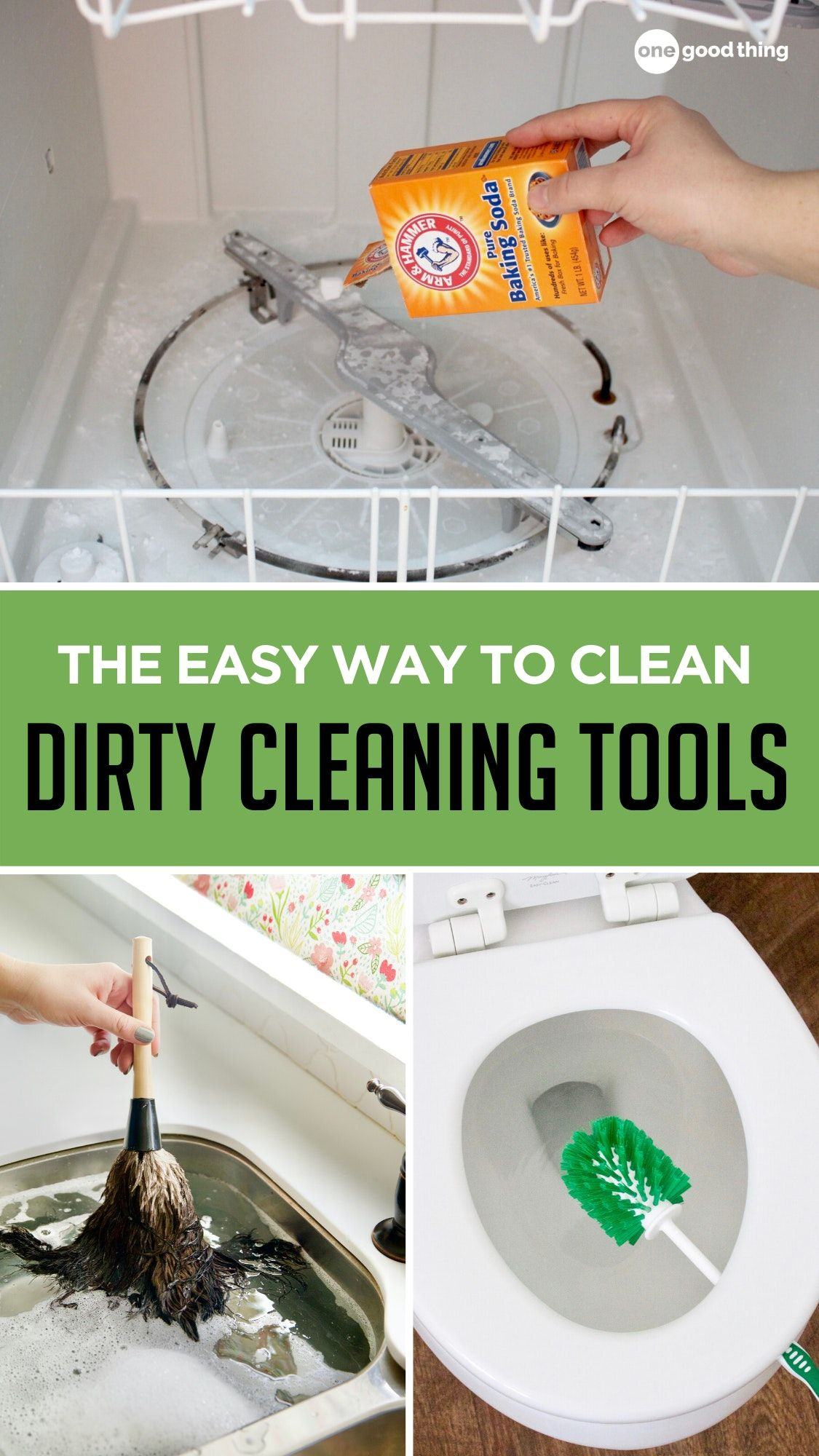 How to Clean the Things You Use To Clean Your House