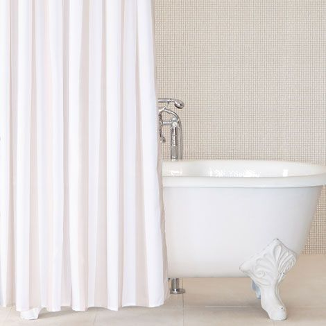 Liven Up Your Bathroom With Shower Curtains From The Zara Home Catalogue Choose Among Blue White Striped Ruffled Fabric Or Linen