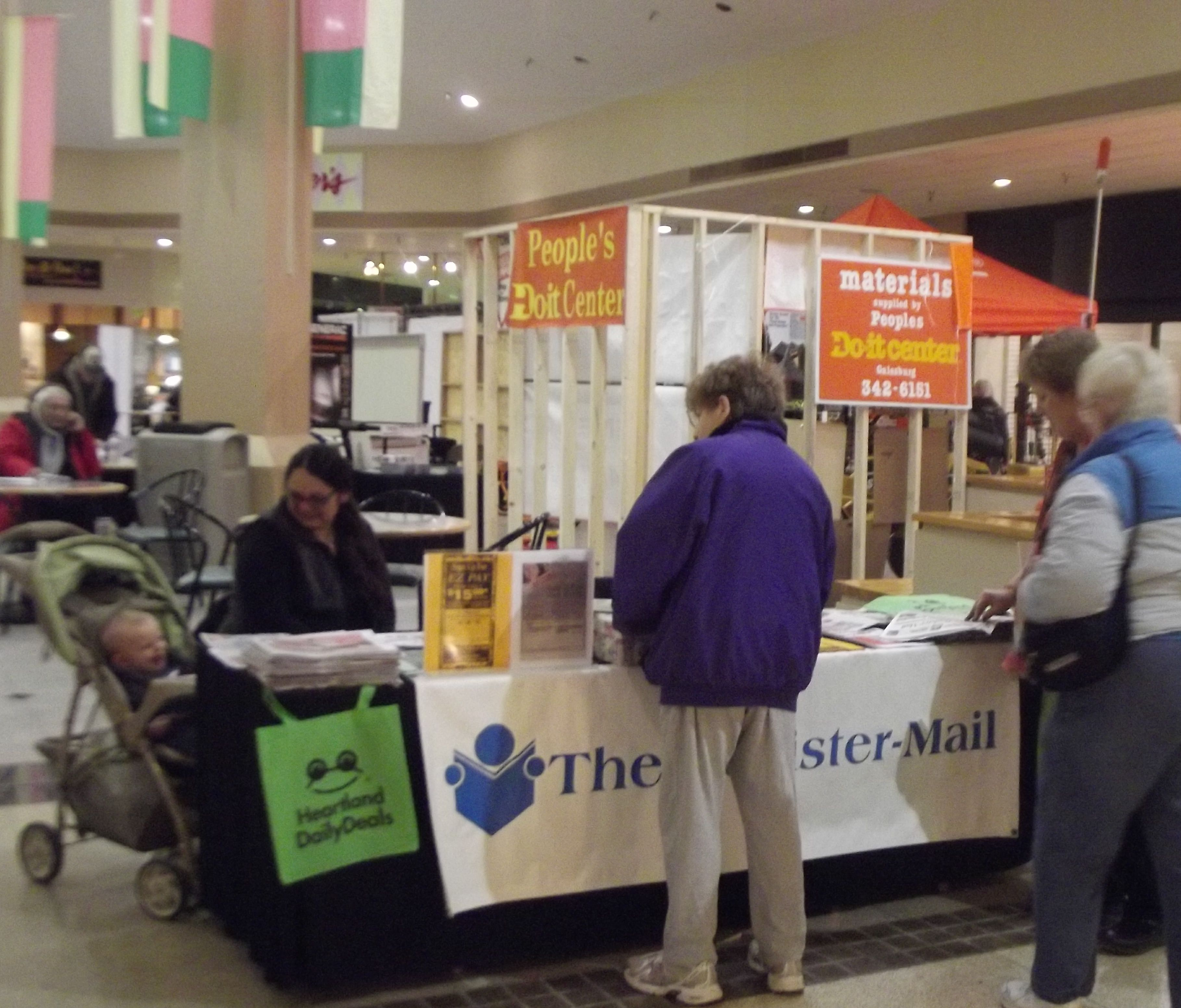 Come to the Home Show this weekend at the Sandburg Mall in