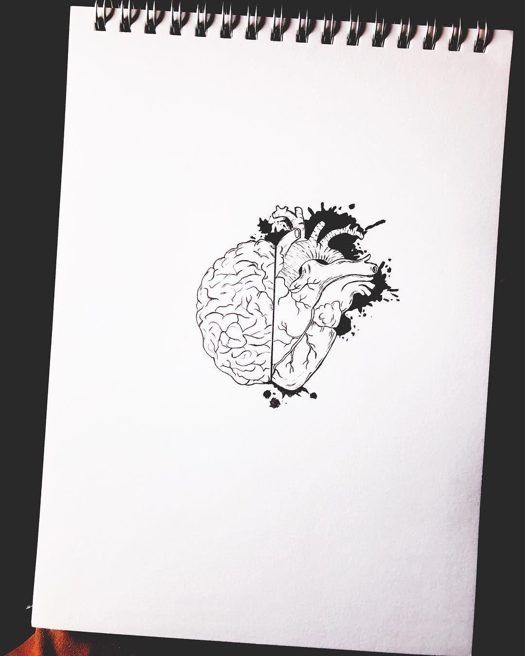 مابين قلب يريد وعقل يرفض Between The Heart Wants And Mind Refuses رسمي طور فنك رسمتي رسمتي رسمتي المتواضعه كلنا Framed Wallpaper Tattoo Drawings Art