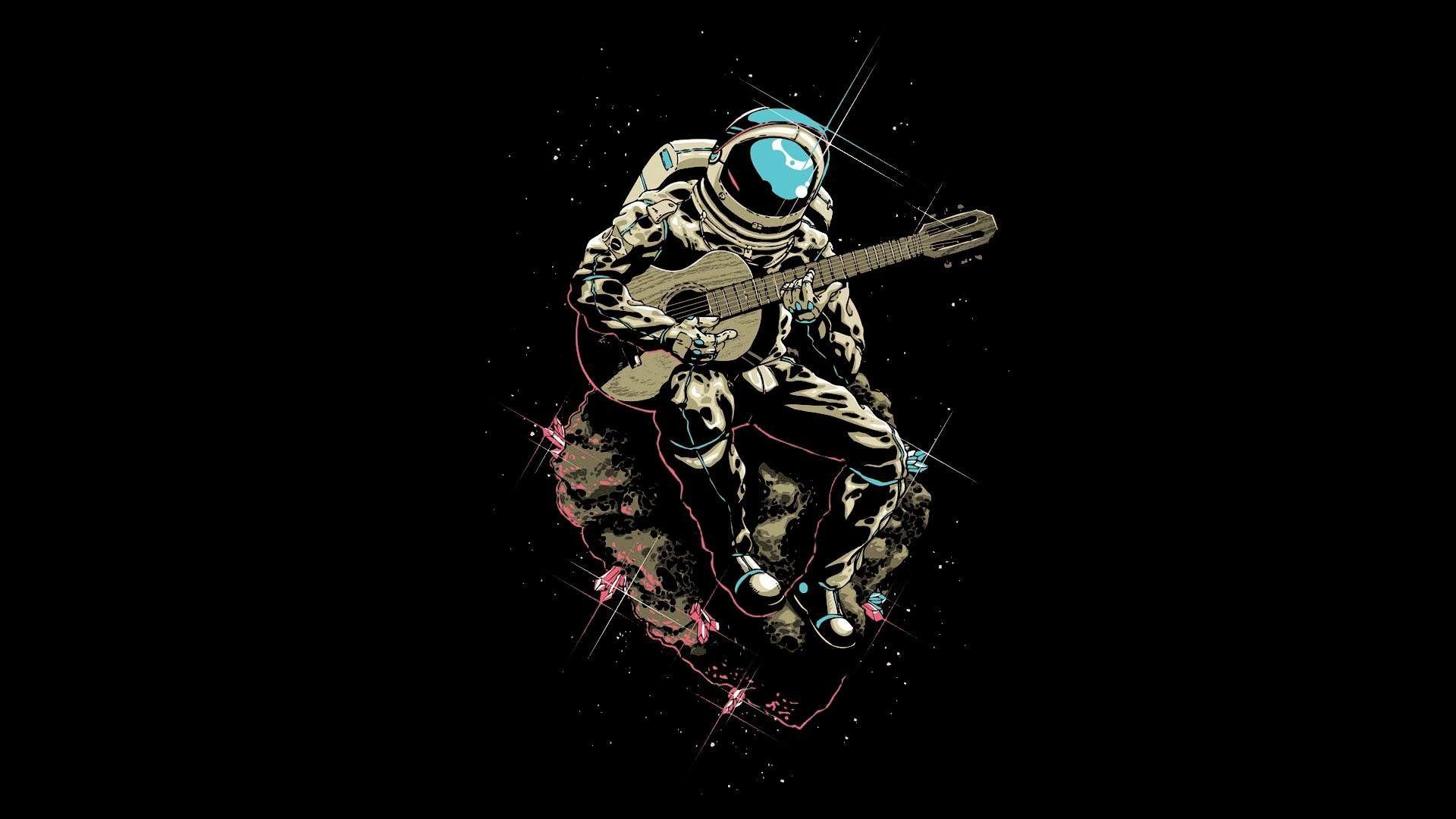 Astronaut Plays Guitar High Definition Wallpaper Astronaut Tattoo Astronaut Wallpaper Astronaut