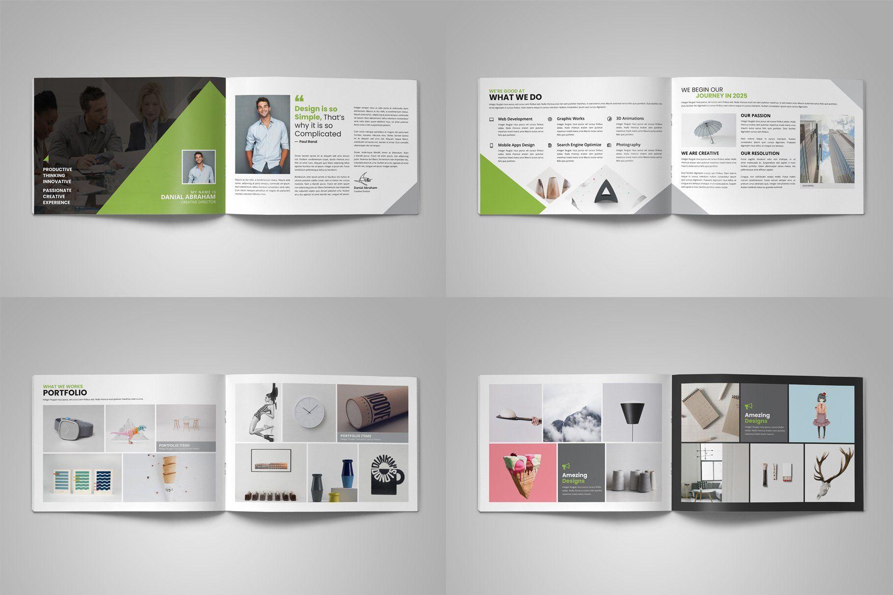 Digital Agency Portfolio Brochure V2 Portfolio Web Design Portfolio Brochures Digital Agencies