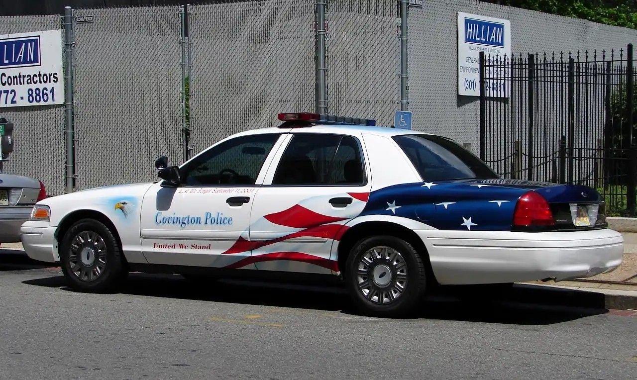 covington ky police 9 11 tribute ford cvpi covington ky police 9 11 tribute ford
