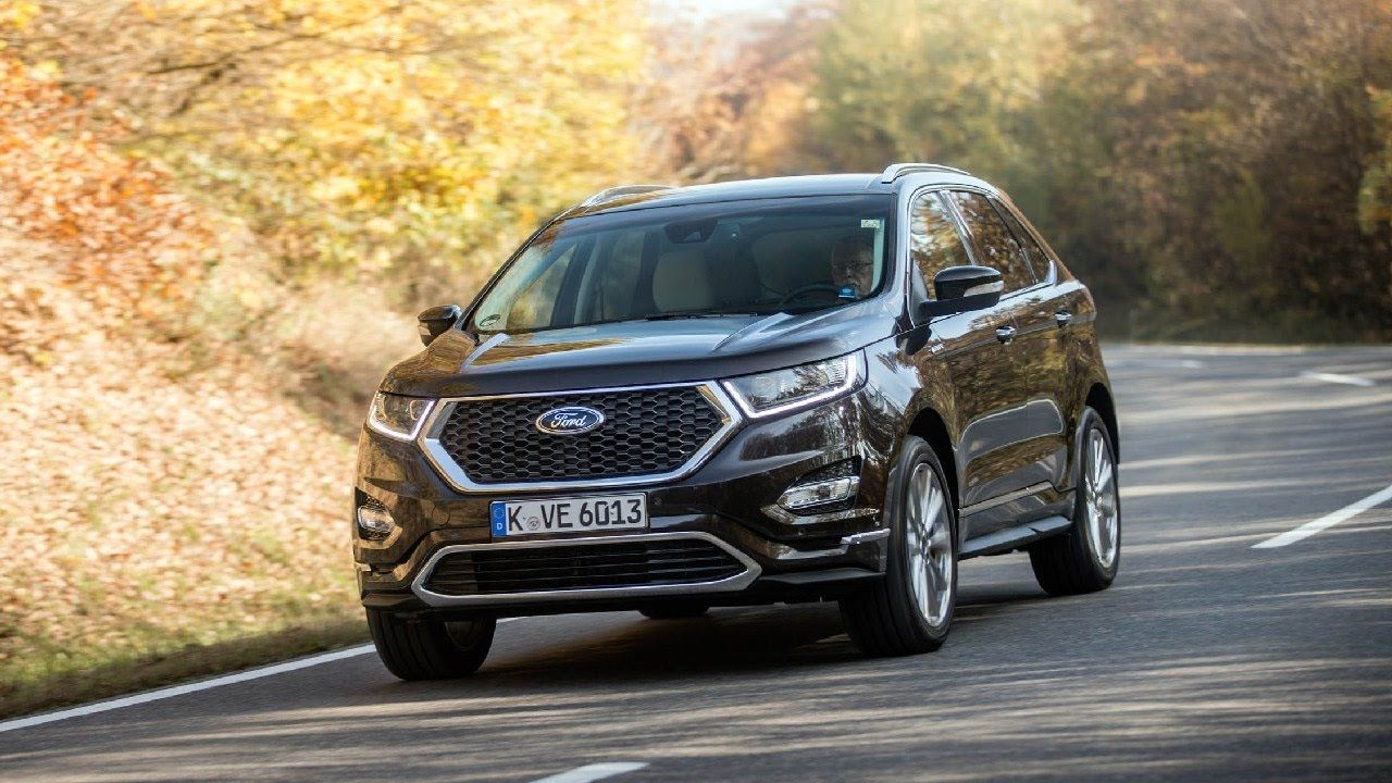 Ford Edge Vignale On The Edge Of Pretension Only The Gt Supercar Costs More In Europe